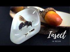 DIY. KERAJINAN RESIN BENING (BEE IN RESIN) / RESIN ART - YouTube Making Resin Rings, Resin Art, Bee, Youtube, Honey Bees, Bees, Youtubers, Youtube Movies
