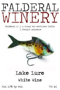 Falderal Winery ~   Lake Lure label