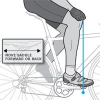 Bike Fit: Set Your Bicycle Saddle Height | Bicycling Magazine Yes! Everyone please get your bike fitted to your size bikes and people have a geometry. When they match, the ride is wonderful. Come on you know what I mean :)