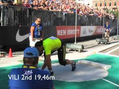 A great idea from the organizers of the Stockholm Diamond league meeting to have this specific shot put competition right in the center of the city , some hu. Shot Put, Big Shot, Diamond League, Women's Shooting, Discus, Stockholm, Olympics, Competition, Basketball Court