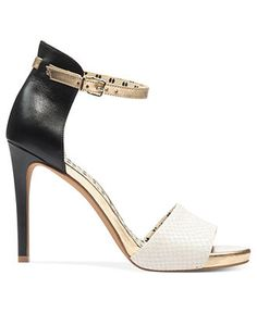 Top Trends from #NYFW: Subtle Colorblocking JESSICA SIMPSON #shoe #pump BUY NOW!