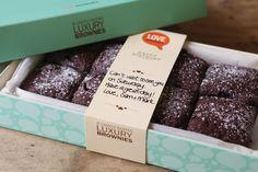 Packaging : Love Brownies by Supafrank