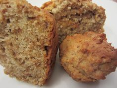 Kitchen Sink Muffins… or loaf Zucchini Oatmeal Cookies, Oatmeal Cookie Recipes, Soy Flour Recipes, Muffins, Bread Packaging, Almond Butter Cookies, Wheat Free Recipes, Biscuit Cookies, Chip Cookies