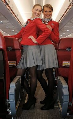 Photos of sexy stewardesses and sexy air hostess in uniform behaving badly for your enjoyment. Airline Uniforms, Russian Red, Girls Uniforms, Cabin Crew, Flight Attendant, Black Tights, Up Girl, Ukraine, Female