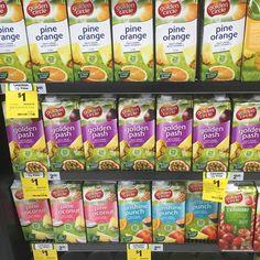 1L @goldencircledrinks are just $1 this week at #woolies. #onsale until 20.9.16 What a #bargain . . . #goldencircle #fruitdrink #onedollar #colddrink #Reducedprice #discounted #woolworths #whypayfullprice #whypaymore #bargain #bargainbuy #bargainshopper #groceryshopping #bargainmum #grocery #onabudget #budgetmum #frugalfinds #shopping #everydollarcounts #everycentcounts #italladdsup #savingmoney #savemoney #smartshopper #savvyshopper #savvysaver #sep16