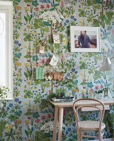 More Wallpaper, Textured Wallpaper, Fabric Wallpaper, Wallpaper Roll, Pattern Wallpaper, Scandinavian Wallpaper, Scandinavian Design, Beddinge, Video Backdrops