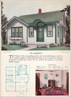 1928 Cottage & Plan