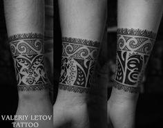 Maori tattoo by ValeriyLetov