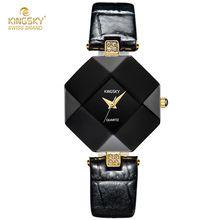 Relogio Feminino Women Bracelet Watch 2017 KINGSKY Luxury Brand Watches Fashion Casual Quartz Leather Bangle Wrist Watches Clock(China (Mainland))