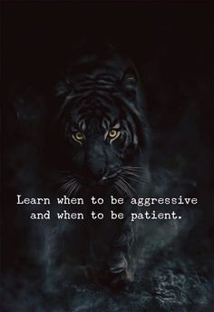 Learn when to be aggressive and when to be patient. via (http://ift.tt/2BZPqR3)