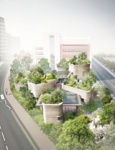 Heatherwick Wins Planning for New Maggie's Centre in Leeds,© Heatherwick Studio