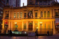 """Paço municipal e prefeitura 'velha"""" de Porto Alegre"""