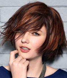 mujer estilo y belleza cortes modernos pelo medio corto 2015