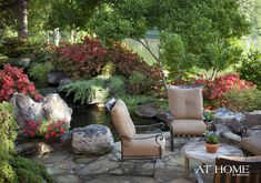 Backyard Escape. Outdoor Gardens Gardening. At Home Arkansas