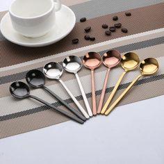 2 lingurite de 17 cm pentru ceai si cafea, din otel inoxidabil de calitate superioara, model retro, lingurite mici, linguri mini pentru cafea, tacamuri din gama accesoriilor pentru bucatarie