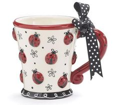 This is one of our favorite Ladybug Mugs !