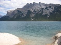 Lake Minnewanka Canada, Water, Travel, Outdoor, Gripe Water, Outdoors, Viajes, Destinations, Traveling