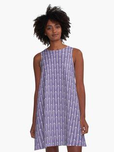 Marineblau//Violett//Pink abstrakt Jersey White Stuff Damen-Wickelkleid gepunktet