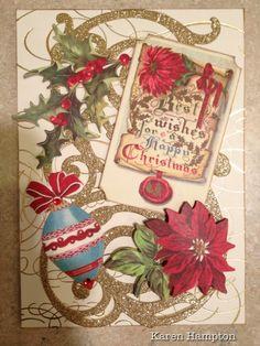 Anna Griffin Christmas card