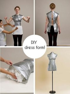 d.i.y. dress form by sharonsparkles