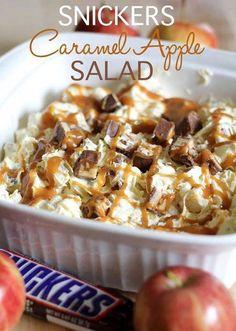 Snickers Caramel Apple Salad