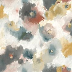 UC3822 MODERN ART - York UC3822 Modern Art Impressionist Floral Wallpaper - CanadaDecor Paper Wallpaper, Modern Wallpaper, Wallpaper Roll, Wallpaper Size, Beige Wallpaper, Bedroom Wallpaper, Wallpaper Ideas, Stripped Wallpaper, Modern Art Movements