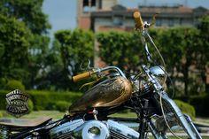 harley davidson chopper mustang