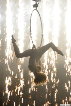 another great shot from Circus Orange - pyros and aerials and lyra... nice