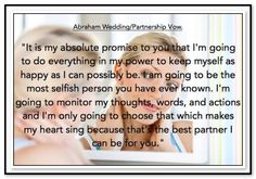 It's my absolute promise to you that I'm going to do everything in my power to keep myself as happy as I can possibly be. I am going to be the most selfish person you have ever known. I'm going to monitor my thoughts, words, and actions and I'm only going to choose that which makes my heart sing because that's the best partner I can be for you. Abraham-Hicks Quotes (AHQ3337) #relationship
