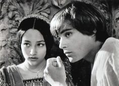 Romeo and Juliet, 1968. With Leonard Withing and Olivia Hussey.