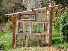lean to garden room Like many DIY enthusiasts . lean to garden r Cheap Greenhouse, Greenhouse Effect, Backyard Greenhouse, Greenhouse Plans, Old Window Greenhouse, Homemade Greenhouse, Portable Greenhouse, Greenhouse Wedding, Greenhouse Vegetables