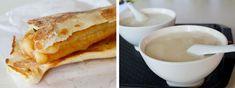 shaobing youtiao & soymilk. #taiwan breakfast