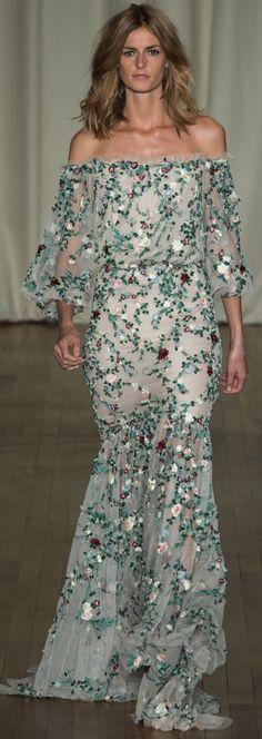 Marchesa Ready To Wear Spring 2015