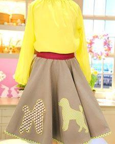 Poodle Skirt SkirtsSkirt TutorialLela