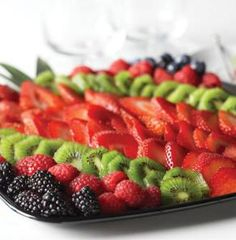 Simple fruit party tray