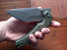 Dervish Knives- custom folding knives Both ridiculous and awesome at the same time