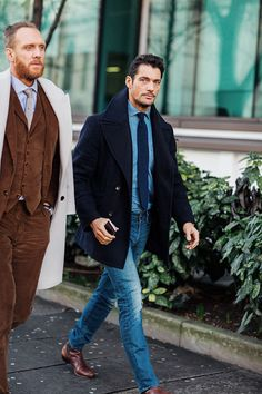 Street looks homme à Londres - David Gandy - January 8, 2016