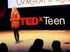 Talks from scientists, musicians, innovators -- all in their teens. Watch these amazing wunderkinds. 13 different videos....INSPIRING