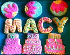 6th Birthday cookies!