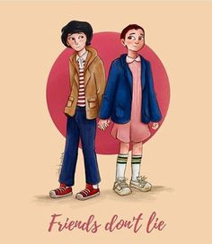 Image result for Mike and Eleven
