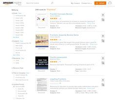 Amazon Inspire Search