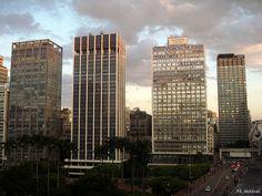 Praça Ramos de Azevedo, São Paulo, Brasil.