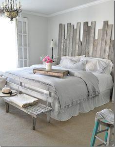 Têtes de lit vintage pour chambres à coucher actuelles