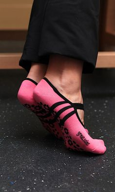 Awesome grippy socks for pilates, dance, yoga, barre, fitness etc. #product_design