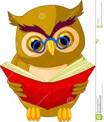 Reading Owl PNG And Vector
