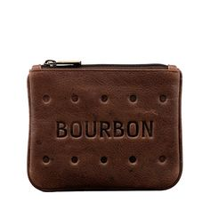 Lichfield Yoshi Leather Bourbon Biscuit Coin Purse