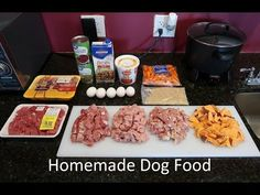 Healthy & Easy Home Made Dog Food Recipe - From A Past Vet Tech! Recipe #5 - YouTube