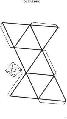 Como fazer um octaedro - 6 passos (com imagens) - umComo