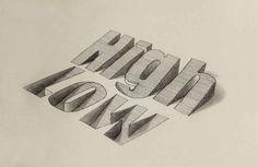 tipografia 3d - Buscar con Google