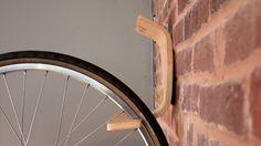Elegant minimalist wall rack.
